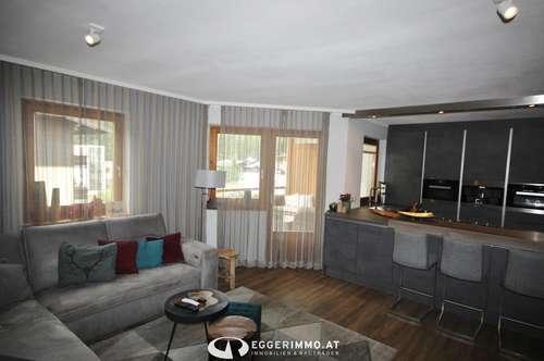 Saalbach Hinterglemm: die Gelegenheit: großzügige 94m² 4 Zimmer-Wohnung | neu renoviert | modern möbliert | Tiefgarage | Lift im Haus