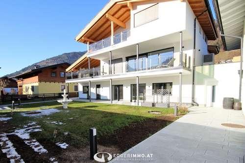 Wohntraum:exclusive Wohnung mit XXL Garten am Golfplatz zu vermieten...