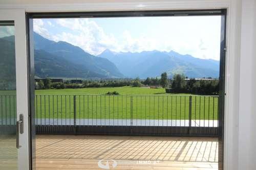 Zell am See: Neubau; sonnige 3 Zimmerwohnung 79,4 m² mit ca. 50m² Terrasse, Ruhelage, unverbaubarer Weitblick,Lift , Nähe Areittalstation
