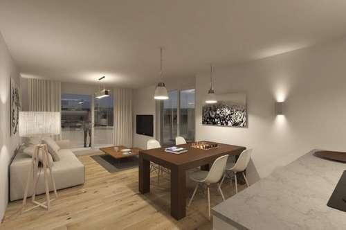 Erstbezug! 3-Zimmer-Terrassen-Wohnung mit grandioser Aussicht