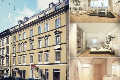 Zentrales 2-Zimmer Appartement im Dachgeschoß (Neubau/Erstbezug)