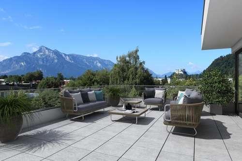 Kurz vor Fertigstellung! Premium Penthouse mit TRAUMAUSSICHT in SBG/Parsch!