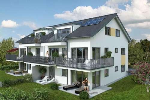 NEUBAU IN ANTHERING! Feine 3-Zi.-Terrassenwohnung mit Panoramablick!