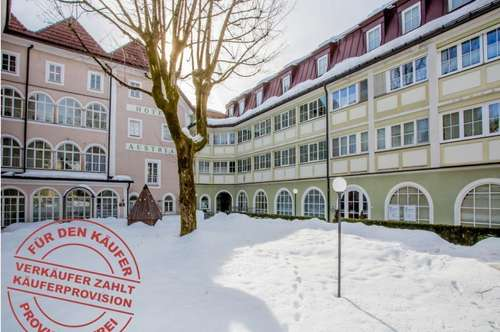 Open House am Fr. 8. März um 15 Uhr! Zentrale Kleinwohnung im Herzen der Stadt Bad Ischl! Verkauf mit DAVE - im offenen Verfahren!