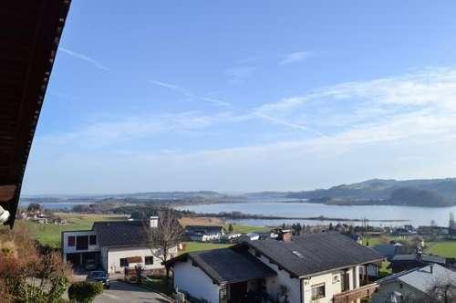 MIETE: 3 1/2-Zimmer-Wohnung mit Blick auf die Trumer Seenlandschaft