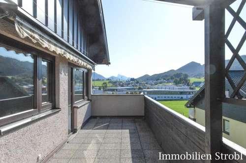 Großzügige 4-Zimmer-Wohnung mit Sonnenterrasse in Hof bei Salzburg