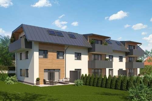 Neubauvorhaben greenLiving KÖSTENDORF - einmalige 4-Zimmer-Maisonette-Wohnung