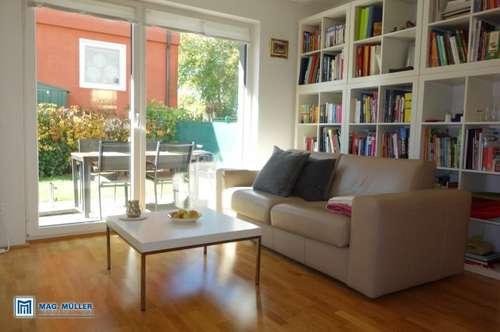 Schmuckstück in Aigen- exklusive 2-Zimmer-Garten-Wohnung in kleiner Stadtvilla