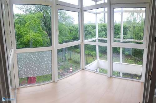 Lifestyle & Leichtigkeit: Geniale 2-Zimmerwohnung + Wintergarten + Carport im lebenswerten Elsbethen