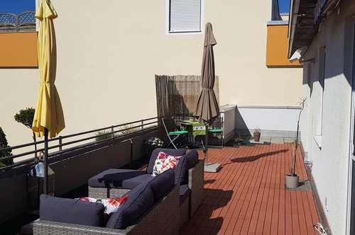 Sommertraum - Dachterrasse mit 2 Zimmer Wohnung in Ainring Mitterfelden