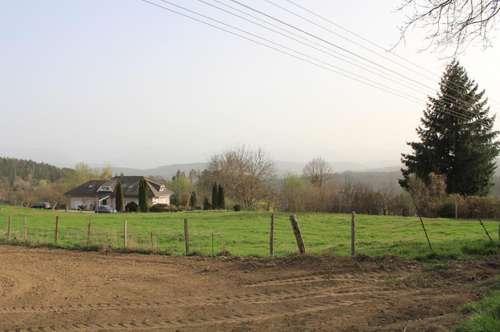 Klagenfurt Nordwest: Großzügiges Grundstück zum vernünftigen Preis