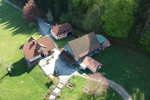 Reifnitz am Wörthersee – Landwirtschaft mit drei Gebäuden 4 Minuten vom See