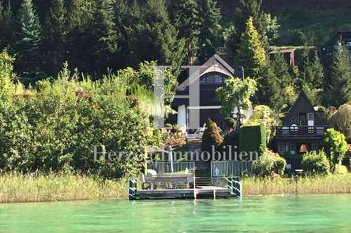 Wörthersee: Charmantes Seehaus in Miete |Lake Wörthersee: Lovely beachfront villa for rent