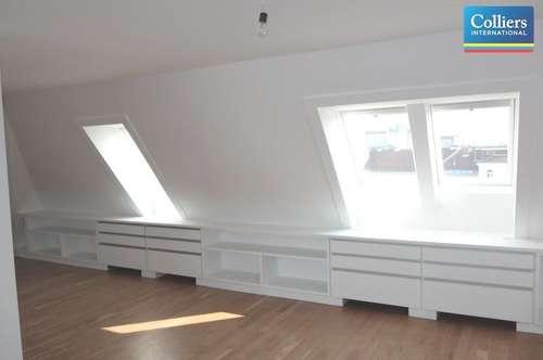 Vier-Zimmer-Dachgeschoßwohnung mit Terrasse in einem Palais am Schwarzenbergplatz - Miete 1030 Wien