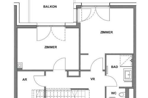 4-Zimmer DG-Wohnung mit 2 Terrassen und coolem Design - Miete 1070 Wien
