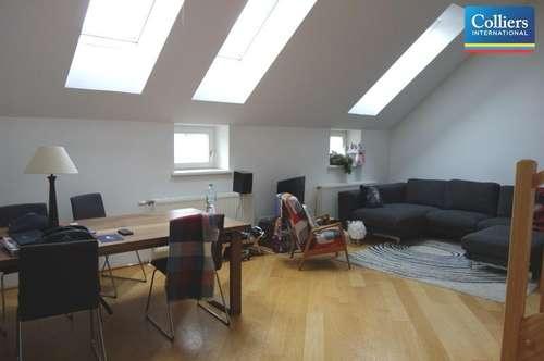 Zwei-Zimmer-Dachgeschoßmaisonette mit Terrasse - Miete 1010 Wien