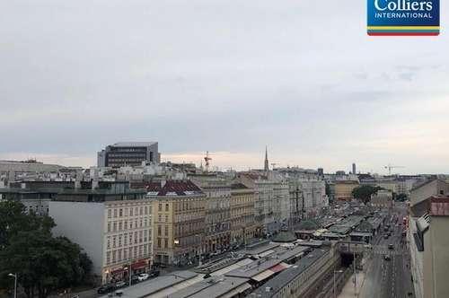 Naschmarkt: Tolle 2-Zimmer DG-Maisonette mit Terrasse - zu mieten in 1040 Wien