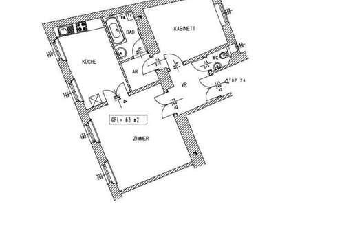Apollogasse: Tolle 2-Zimmer Altbauwohnung - Miete 1070 Wien