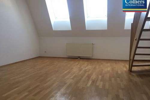 Tolle 2-Zimmer DG-Maisonette am Naschmarkt - zu mieten in 1040 Wien
