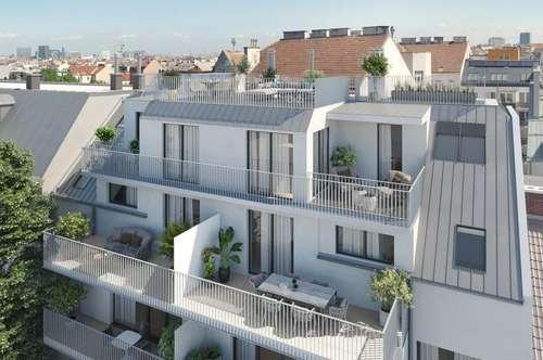 Mein Favorit! Smarte 2-Zimmer Neubauwohnung mit Balkon - Ideal für Anleger! (Top 17 - 45,79m² + 9,67m² Balkon € 240.132,88,-)