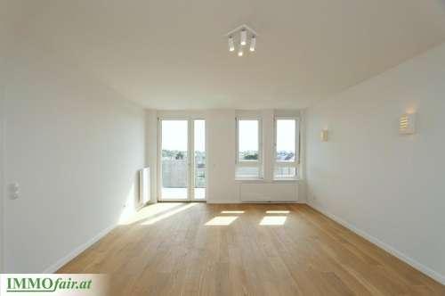 Weitblick in Grün-Ruhelage - Moderner Erstbezug, helle 2 Zimmer mit traumhaftem Balkon!