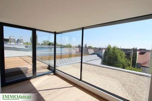 Außergewöhnliches Dachgeschoß in prächtigem Altbau (Top 19: 3 Zimmer/ ca. 142m² + ca. 37m² Terrasse u. ca. 21m² Balkon)