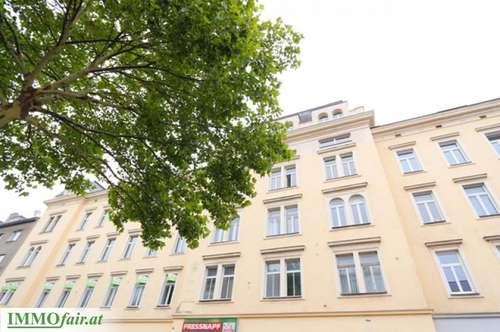 Helle 2-Zimmer-Wohnung Mietwohnung im klassischem Altbau! ( 3. OG - Top 1/17 - 2ZI - 67,41m² € 879,23 )