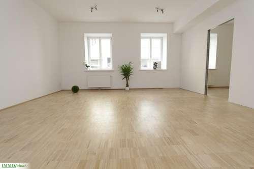 CITY Büro - Nähe Schloßquadrat - Margaretenplatz ( EG 70m² 3 Räume Nettomiete € 768,- )