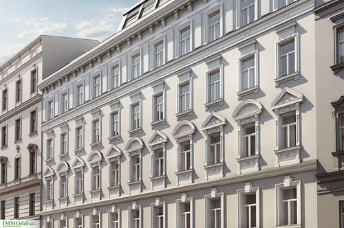 FAMILIENTRAUM - Nähe Benno Platz - ALTBAU-JUWEL 4 Zimmer Stilaltbauwohnung mit 8 m² Balkon ( Top 9 € 680.000,-)