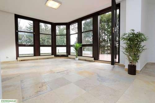 FAMILIENGLÜCK in MAURER Architekten VILLA mit POOL ( 442m² NF plus 94m² Terrassen - 10 Zimmer, Doppelgarage