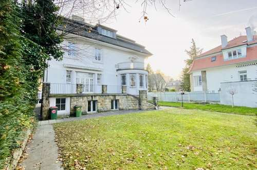 Erstbezug! repräsentative Stilaltbau-Villa in Hietzinger Toplage