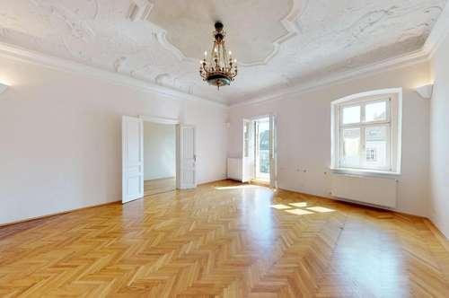 Historische Traumwohnung direkt am Klosterneuburger Stadtplatz | 4 Zimmer + Sonnenterrasse und Stadtbalkon