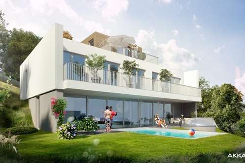 | Architektenvilla mit Pool in Hinterbrühl - Grünruhelage |