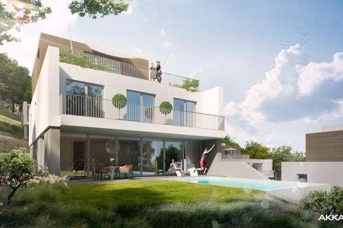 Moderne Architektenvilla in Hinterbrühl mit Pool - Grünruhelage