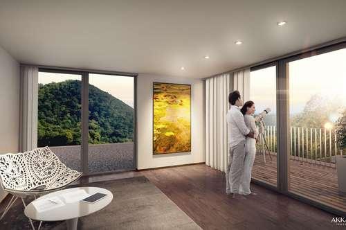 Erstbezug - Moderne Architekten - Villa in der Hinterbrühl mit Pool - Grünruhelage