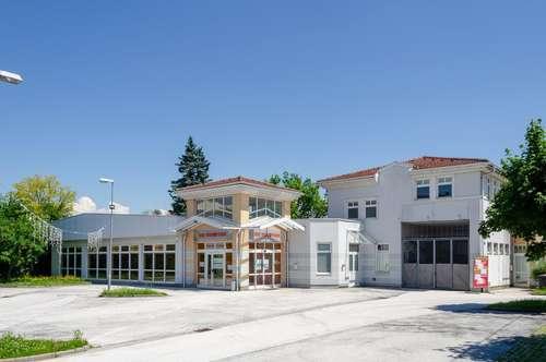 KLAGENFURT | TEILFLÄCHEN verfügbar - Geschäftsflächen bis zu 930 m2 in Bestlage, eigene Kunden-Parkplätze