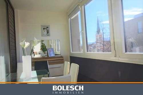 Wohnung in Villach/Zentrum mit Traumausblick