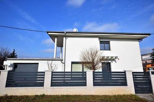 Auf Pachtgrund: Neuwertiges 6 Zi./200+ m2 WNFl-Haus (2014) beim Donaupark