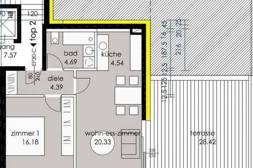 NEU! 2-Zimmer-Terrassenwohnung