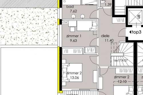 Stilvolles Wohnen für höchste Ansprüche - Top B 3 - 4-Zi-Maisonette