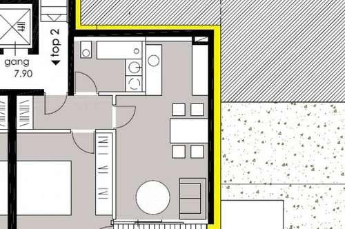 Stilvolles Wohnen für höchste Ansprüche - Top B 2 - 2-Zi-Wohnung