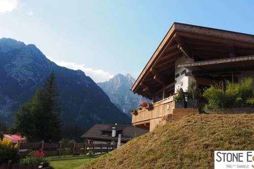 Wenn die Oma mit muss - Landhausvilla mit Einliegerwohnung Leutasch - Nähe Seefeld Tirol