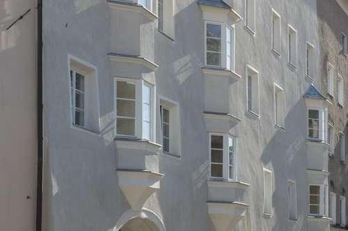 Smarte Altstadtwohnung mit Balkon im historischen Zentrum von Hall in Tirol: Münzergasse 1 Top 18