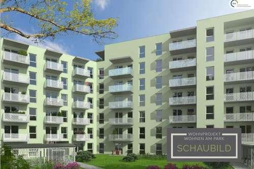ERSTBEZUG provisionsfrei: WOHNEN am PARK: Zwei Zimmer Wohnung mit Balkon - Idlhofgasse 48 - Top 025