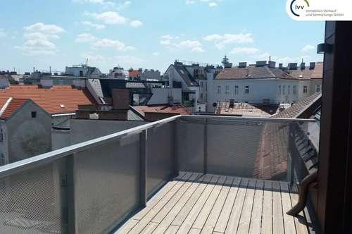 Erstbezug: Generalsanierte Dachterrassen-Maisonette-Wohnung vollklimatisiert in ruhiger Lage: Boerhaavegasse 21-Top 32