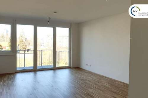 ERSTBEZUG - Provisionsfrei - KEPLERSTRASSE 66: 2 Zimmer Wohnung mit Balkon ins GRÜNE - Top 0 5