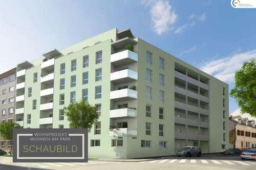 ERSTBEZUG provisionsfrei: WOHNEN am PARK: Zwei Zimmer Wohnung mit Balkon - Idlhofgasse 48 - Top 15