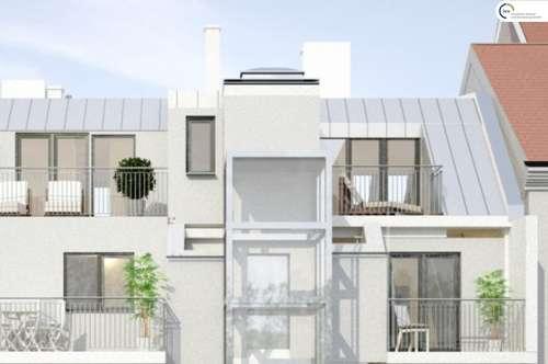 Erstbezug: Dachgeschosswohnung mit Terrasse in Hernals