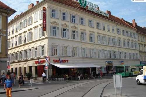 Innenstadt: zentrale und ruhige 3-Zimmer-Wohnung mit Terrasse - Radetzkystraße 1-3 - Top 9
