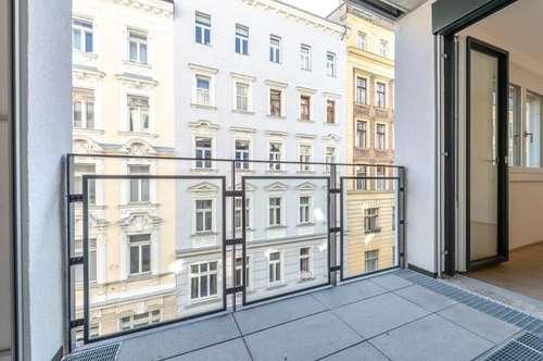 Six in the City: Premium Neubau-Apartment, BESTLAGE, 2-Zimmer ERSTBEZUG mit Loggia! **RUHELAGE**